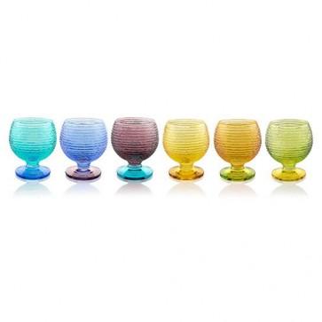 Calice Liquore set 6pz - Multicolor