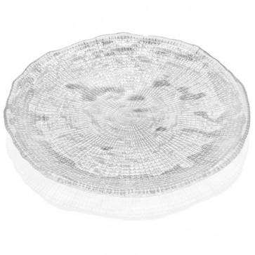 Piatto trasparente cm. 22 - Diamanté