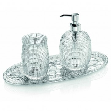 Set per bagno set 3pz - Diamanté