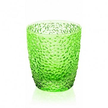 Bicchiere acqua verde felce, collezione Special