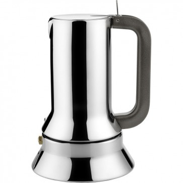Caffettiera espresso in acciaio - Richard Sapper - 30cl - 6 Tazze