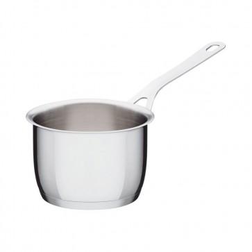 Casseruola a manico lungo in acciaio 14cm - Pots&Pans