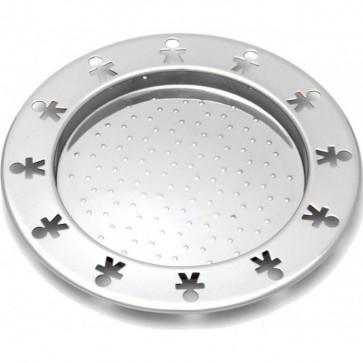 Sottobottiglia in acciaio set 2pz - Girotondo