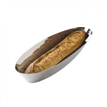 Cestino per pane e grissini in Acciaio - Pinpin