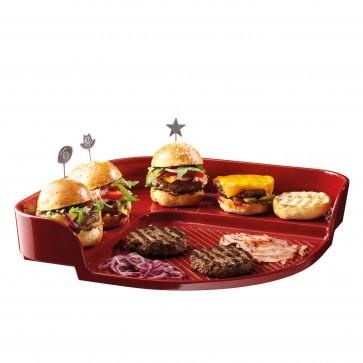 Piastra per Hamburger