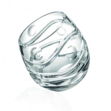 Bicchiere Molato Trasparente - Biglie