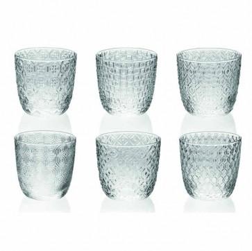 Bicchiere Acqua set 6 pz Vetro - Sixties