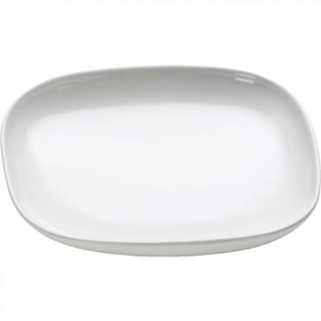 Sottotazza da caffè in ceramica set 4pz- Ovale