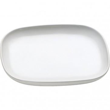 Sottotazza da tè in ceramica set 4pz- Ovale